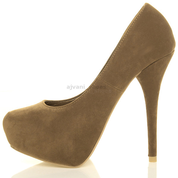 WOMENS-LADIES-HIGH-HEEL-PLATFORM-PARTY-PROM-CLASSIC-PUMPS-COURT-SHOES-SIZE
