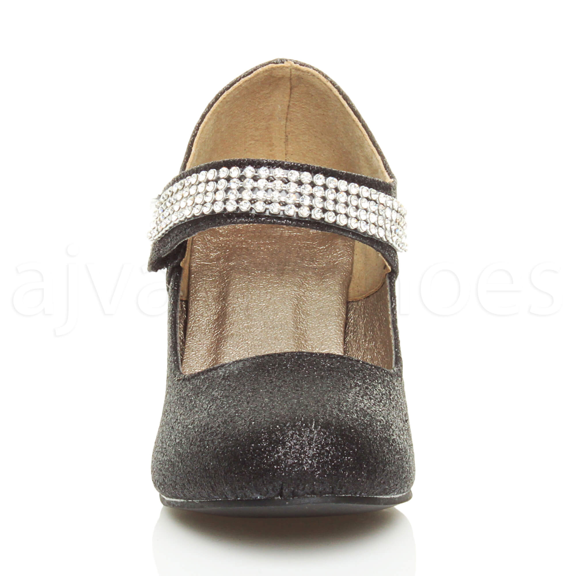 GIRLS-KIDS-CHILDRENS-LOW-HEEL-PARTY-WEDDING-MARY-JANE-STYLE-SANDALS-SHOES-SIZE
