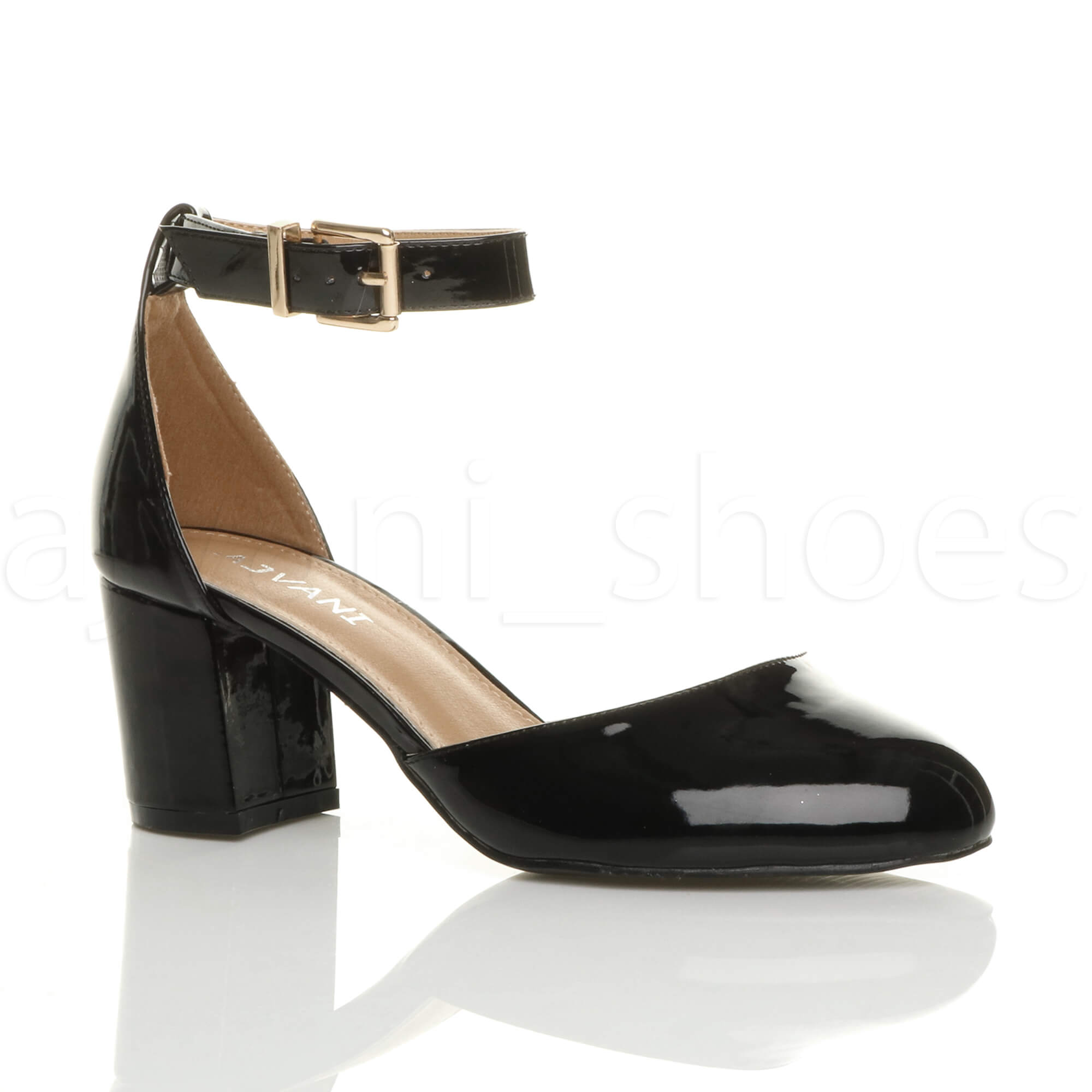Low Heel Ankle Strap Shoes Qu Heel