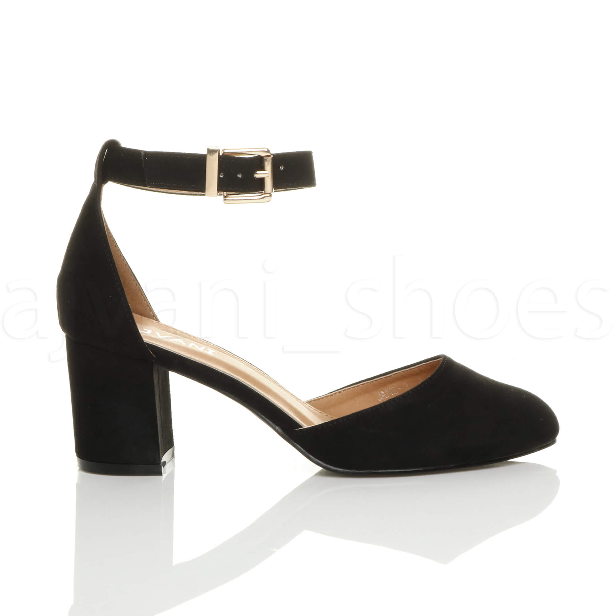 Womens Block Heel Shoes Uk