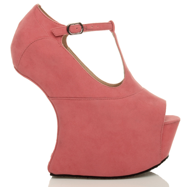 WOMENS-LADIES-HIGH-HEEL-LESS-WEDGE-MARY-JANE-STYLE-PLATFORM-SHOES-SIZE