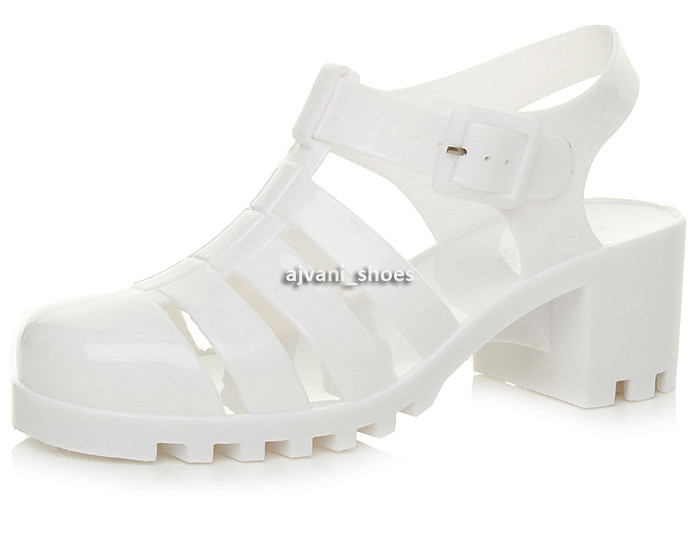 WOMENS-LADIES-RUBBER-JELLY-BLOCK-FLIP-FLOP-MID-HEEL-SUMMER-SANDALS-SHOES-SIZE