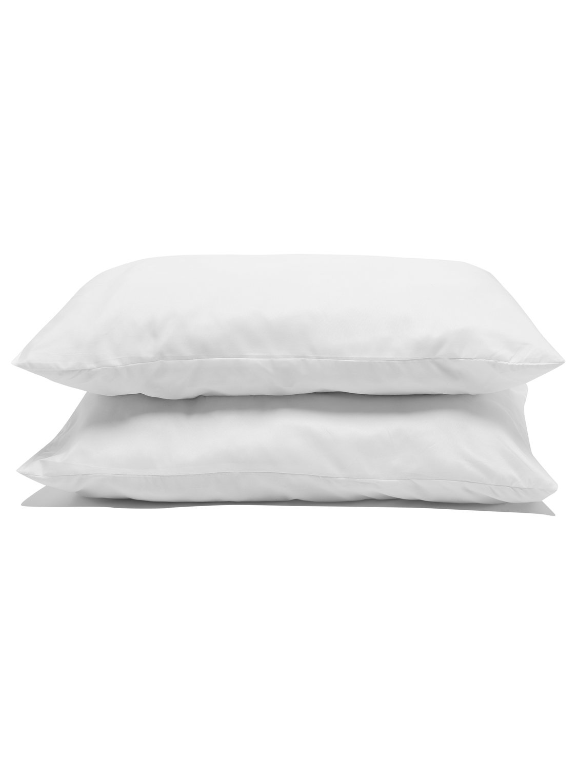 Image of Ultra Soft Comfort Washable peach soft pillow - 2 pack - White