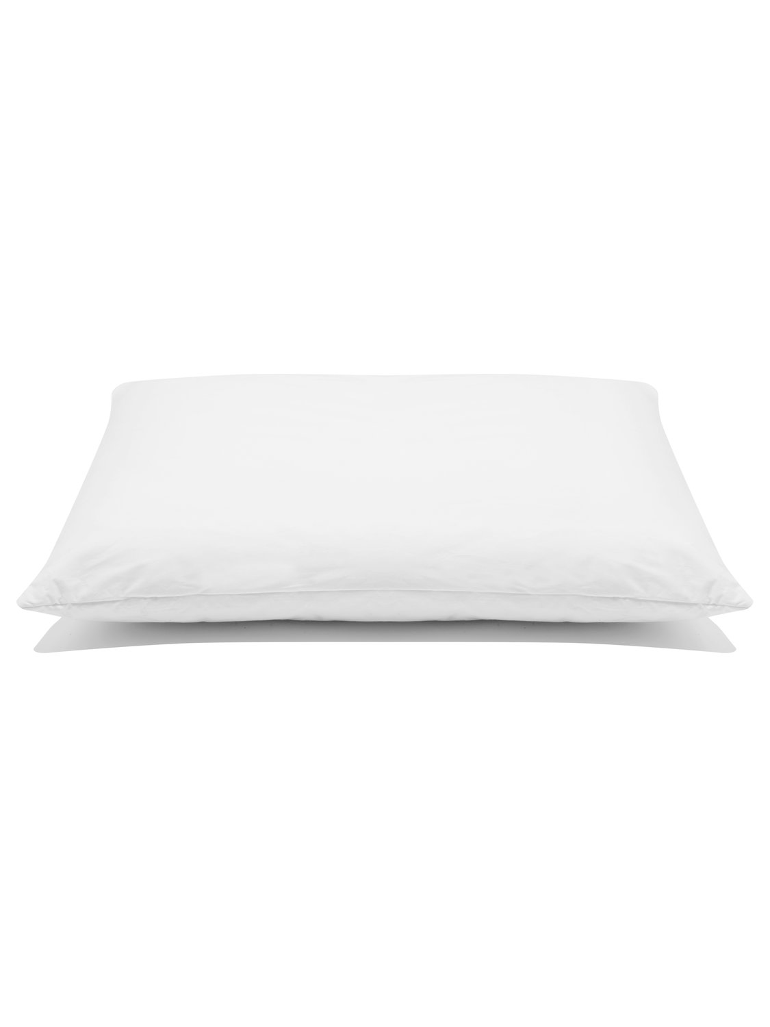 Image of Homeware memory foam supportive comfortable pillow - White