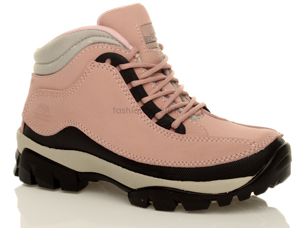 womens lace up work safety shoes steel toe cap