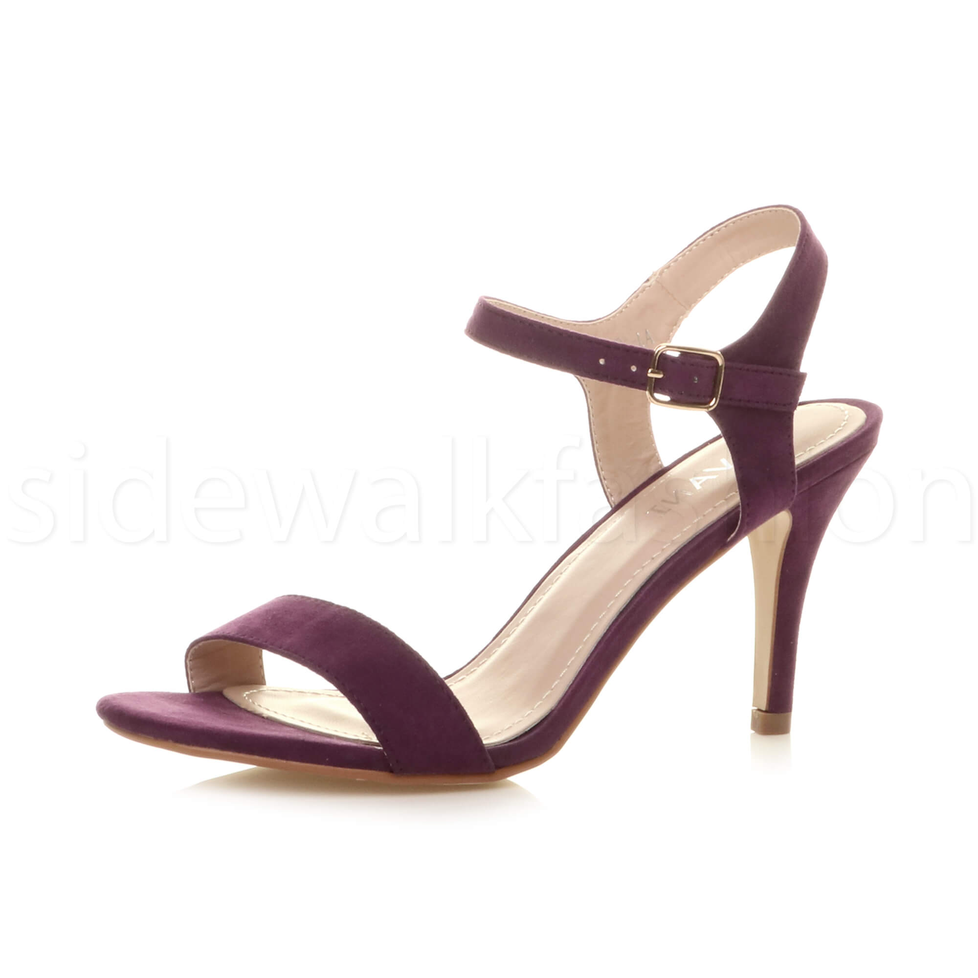 womens high heel strappy evening prom simple