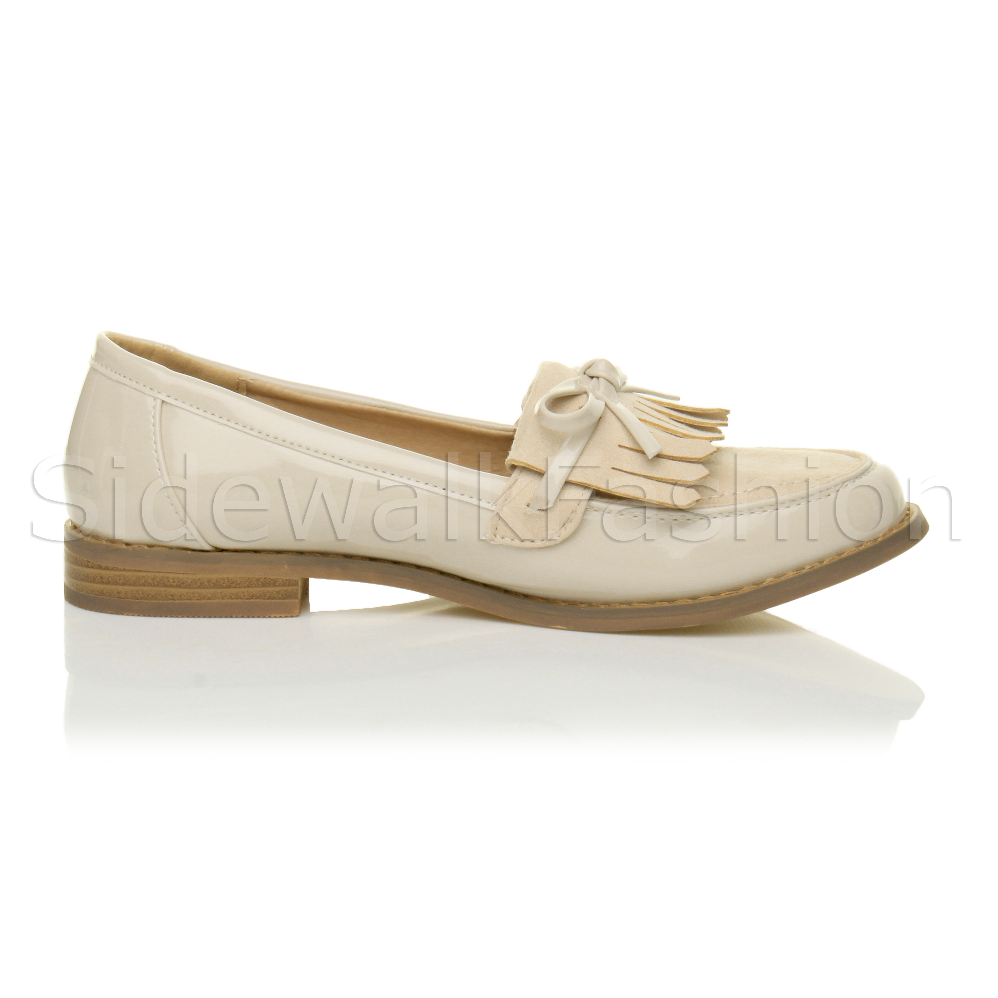 Womens Tassle Boat Shoes