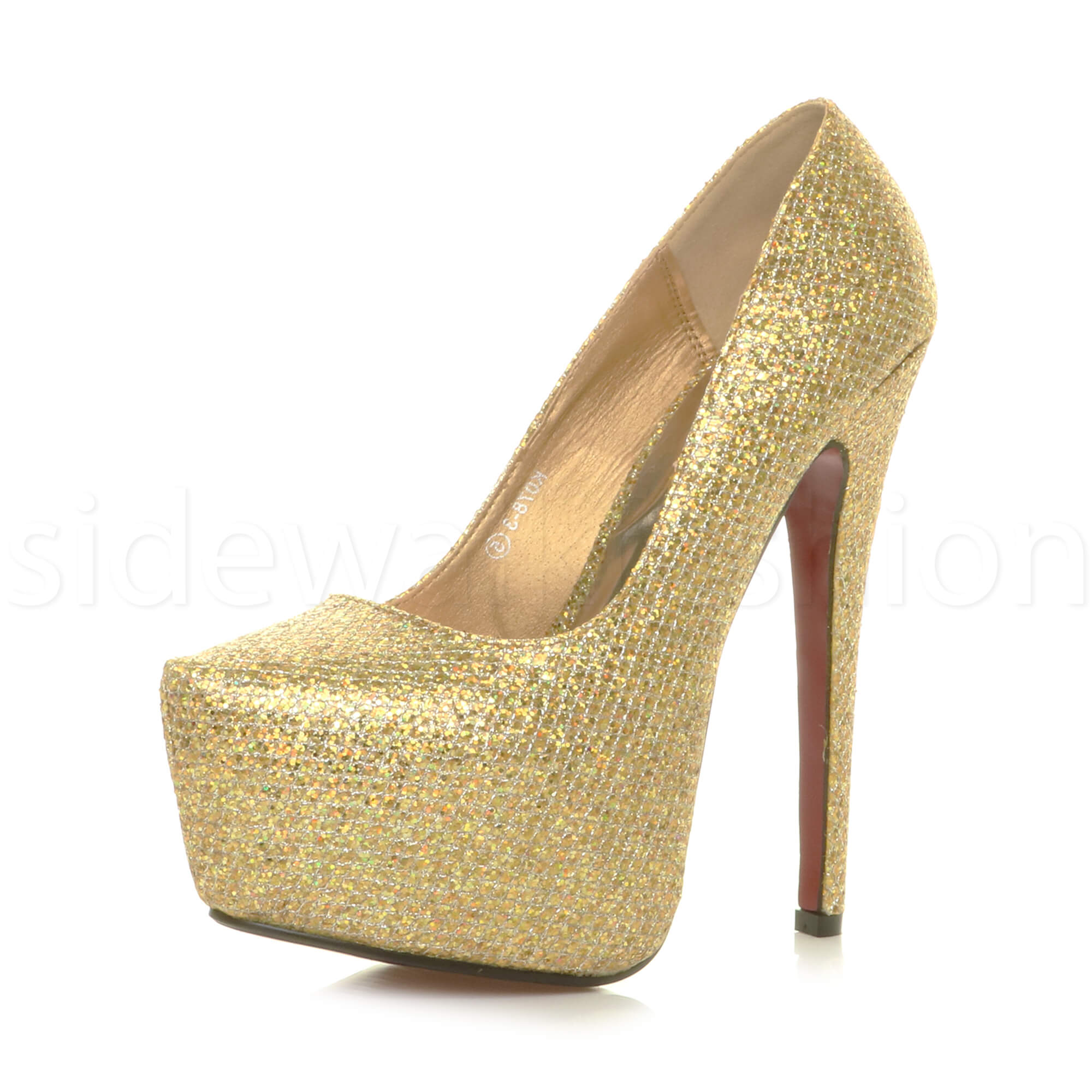 WOMENS-LADIES-HIGH-HEEL-CONCEALED-PLATFORM-POINTED-CLASSIC-COURT-SHOES-PUMP-SIZE