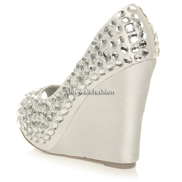 WOMENS-LADIES-PLATFORM-HIGH-HEEL-WEDGE-WEDDING-PROM-BRIDAL-PARTY-GEM-SHOES-SIZE