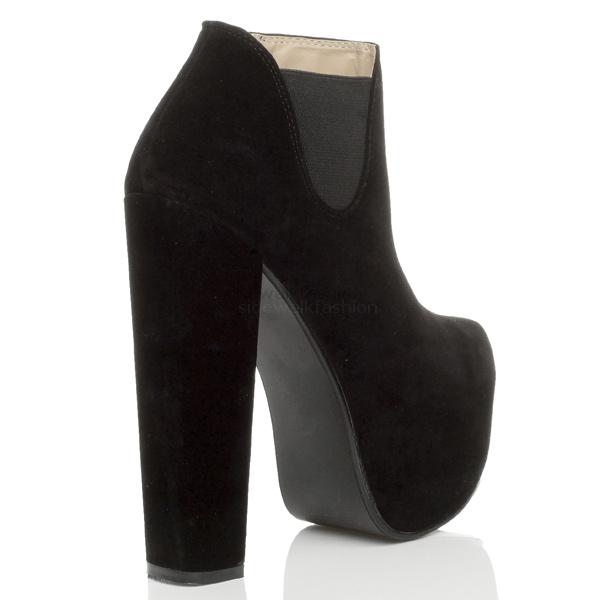 Folde Flatform Lace Up Shoe