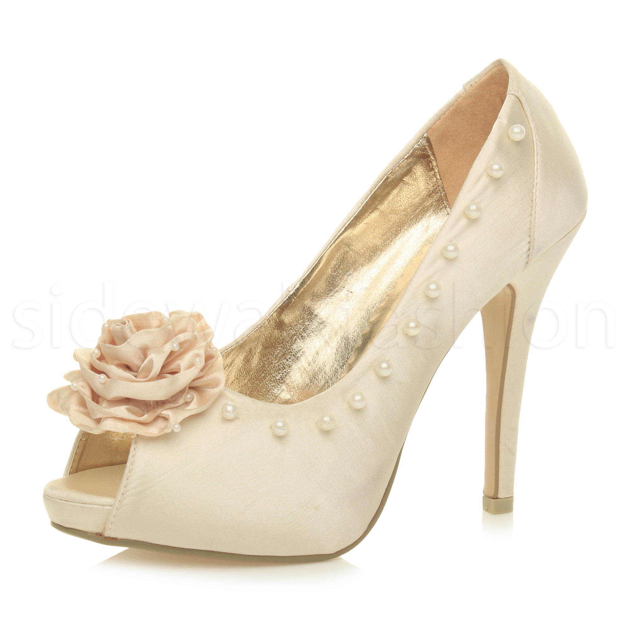 Buy White Pearl Ankle Strap High Stiletto Heels From orimono.ga will find many fashionable products from Hottest & Must-Have collections.