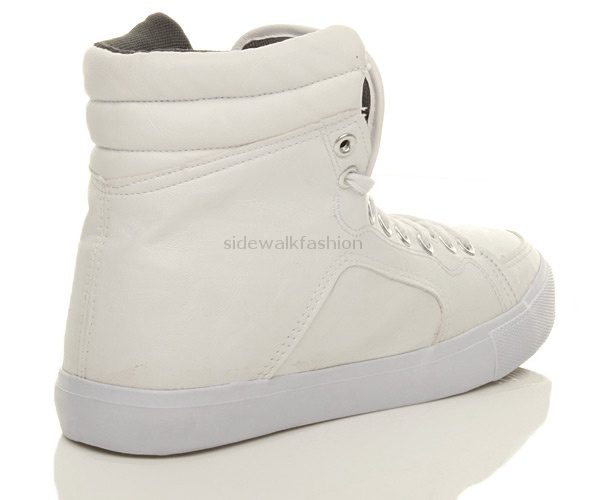 MENS-FLAT-HI-HIGH-TOP-ANKLE-BOOTS-LACE-UP-TRAINERS-SHOES-SIZE