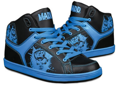 MGP Mad Gear Pro Shreds Shred Blue/Black Skate Shoes ...