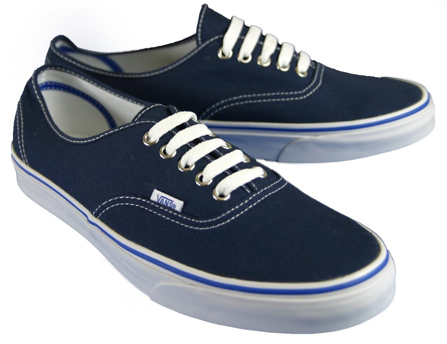 vans shoes blue. vans-authentic-shoes-trainers-black-blue-white-red- vans shoes blue h