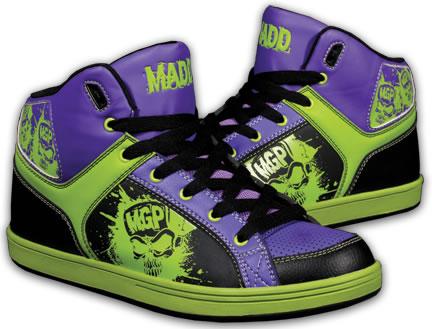 MGP Mad Gear Pro Shreds Shred Purple/Green/Black Skate ...