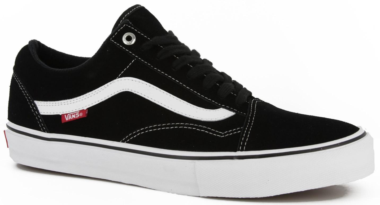 vans old skool 92 pro black white red skate shoes ebay. Black Bedroom Furniture Sets. Home Design Ideas