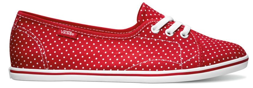 Red And White Polka Dot Shoes For Toddlers