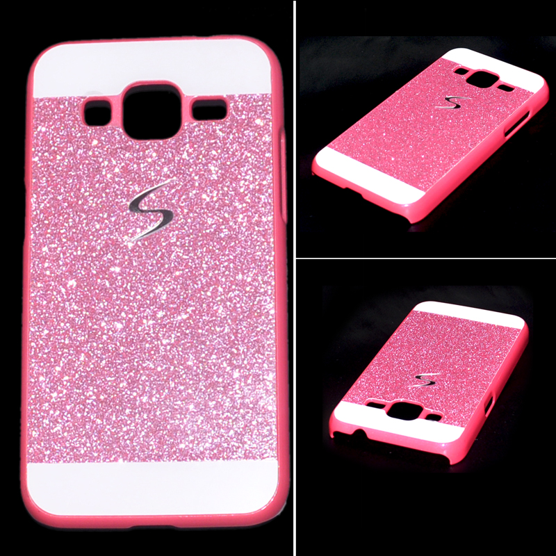 Célèbre Luxury Bling Glitter Hard Back Case Cover for Samsung Galaxy Core  KI94