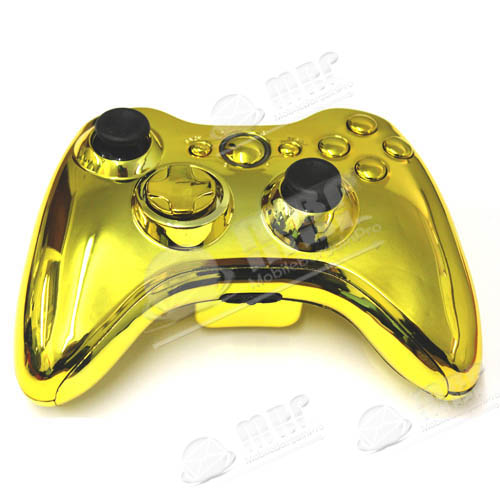 Replacement Case For Xbox 360 Wireless Controller Chrome ...