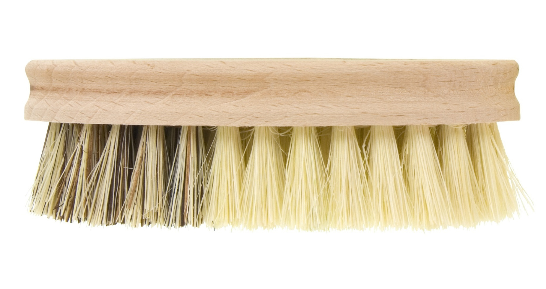 how to clean wooden bristle hair brush