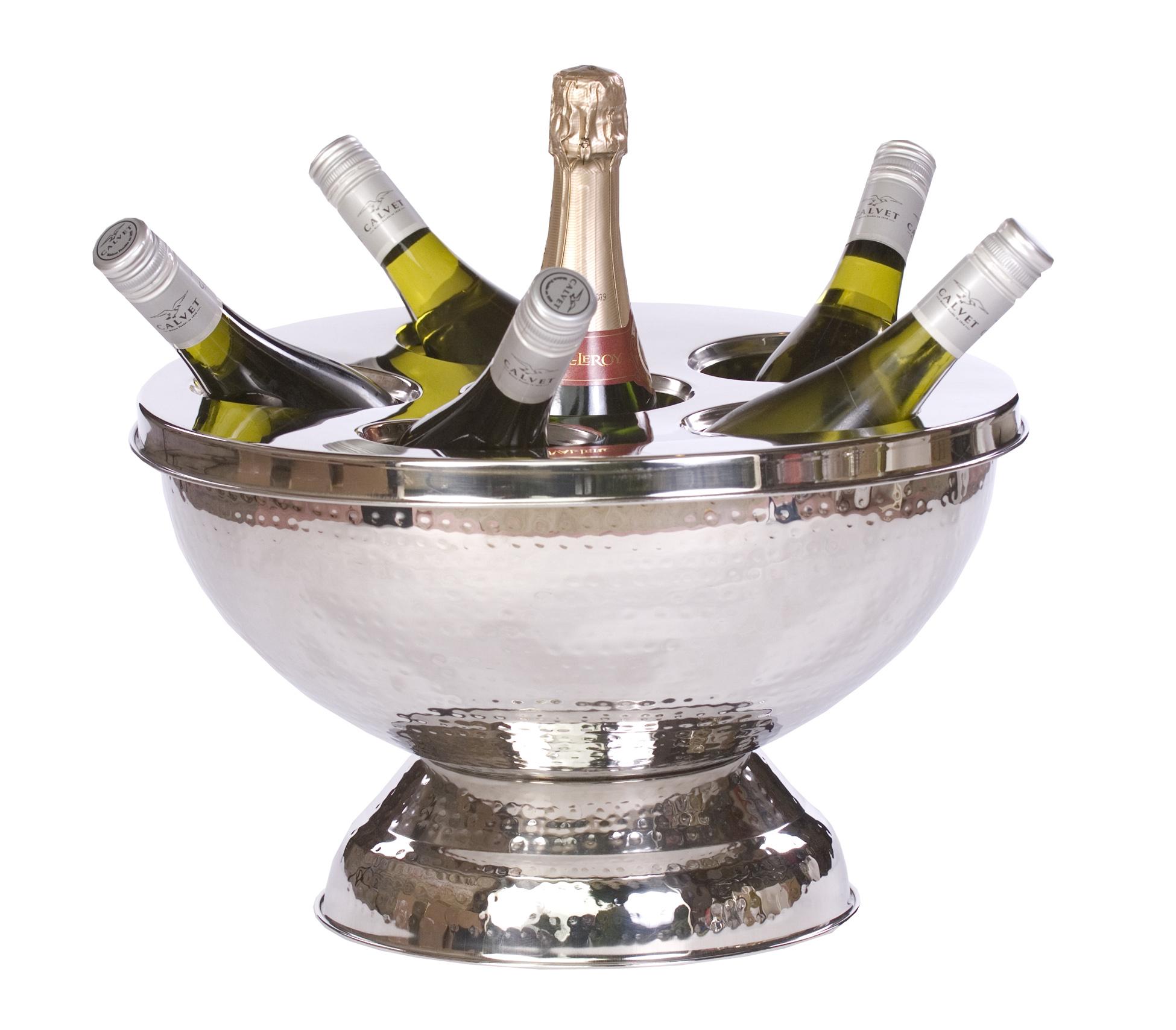 eddingtons  bottle champagne wine cooler bucket beer ice bar  - epicurean regal  bottle wine  champagne bucket