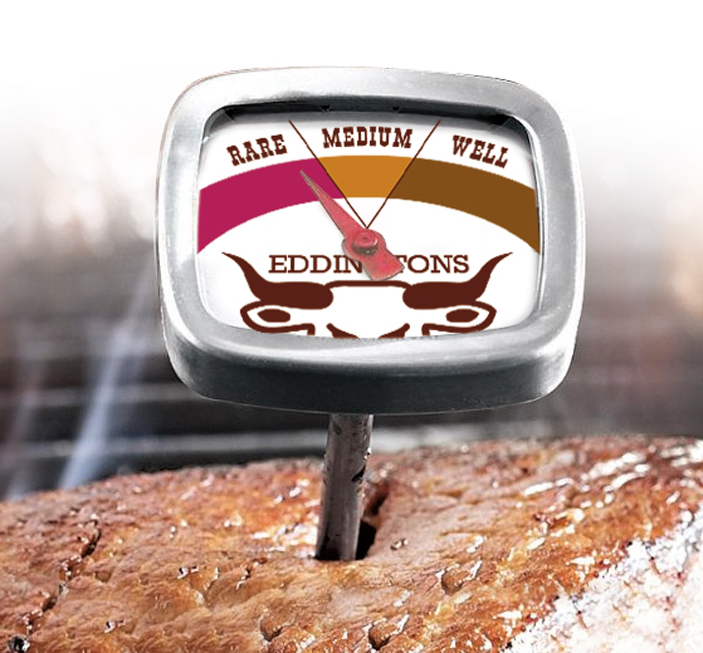 M14 1 5 Well For Temp Probe : Eddingtons steak thermometer instant read stainless steel