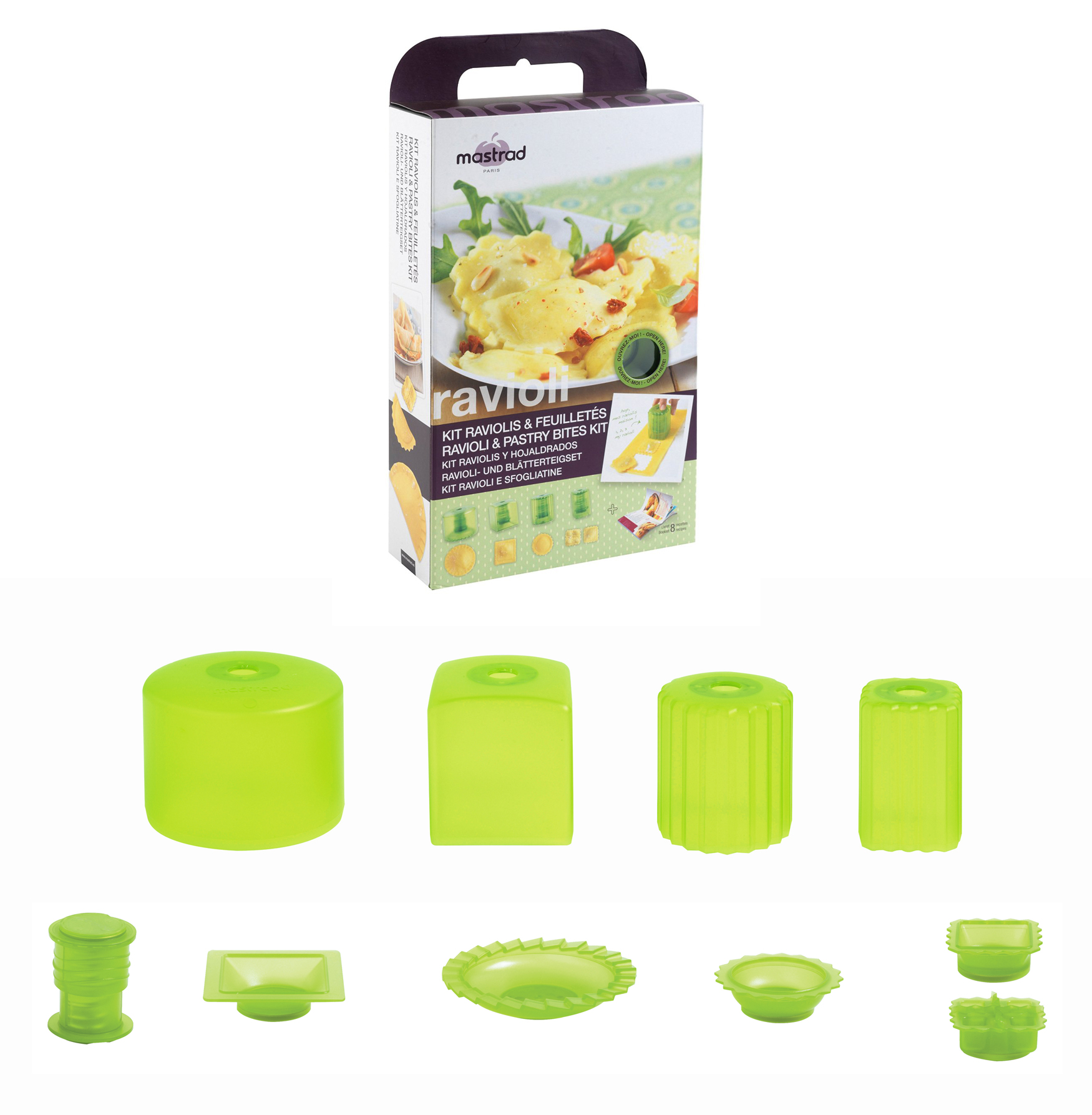 Mastrad ravioli pastry bites gift set italian kitchen for Italian kitchen gifts