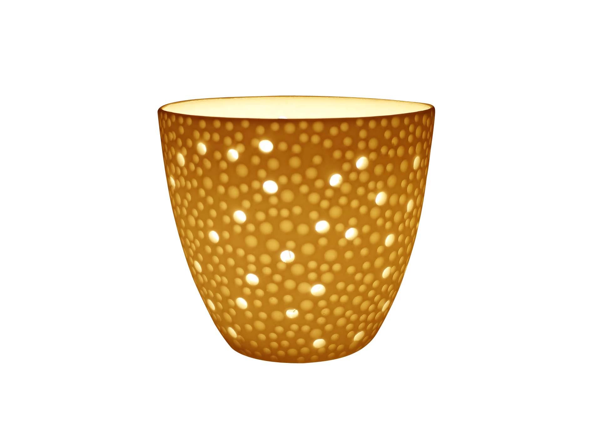 Light Glow Bubbles Lithophane Tealight Tea Light Candle