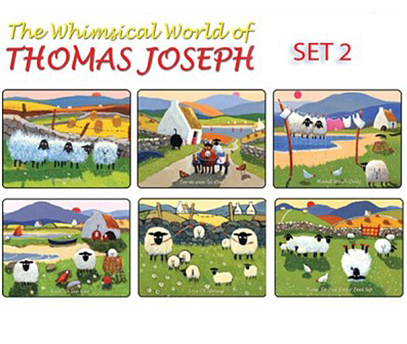 Thomas Joseph Sheep Design Place Mat Set Of 6 2 EBay