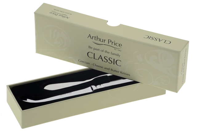 Arthur Price Classic Grecian Stainless Steel Cheese