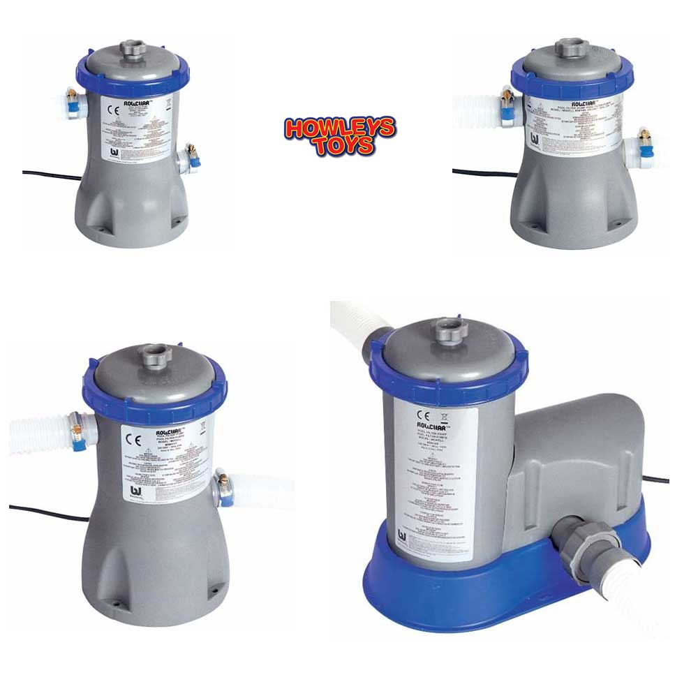 Bestway swimming pool filter pump flow clear all sizes ebay for How to empty a swimming pool without a pump
