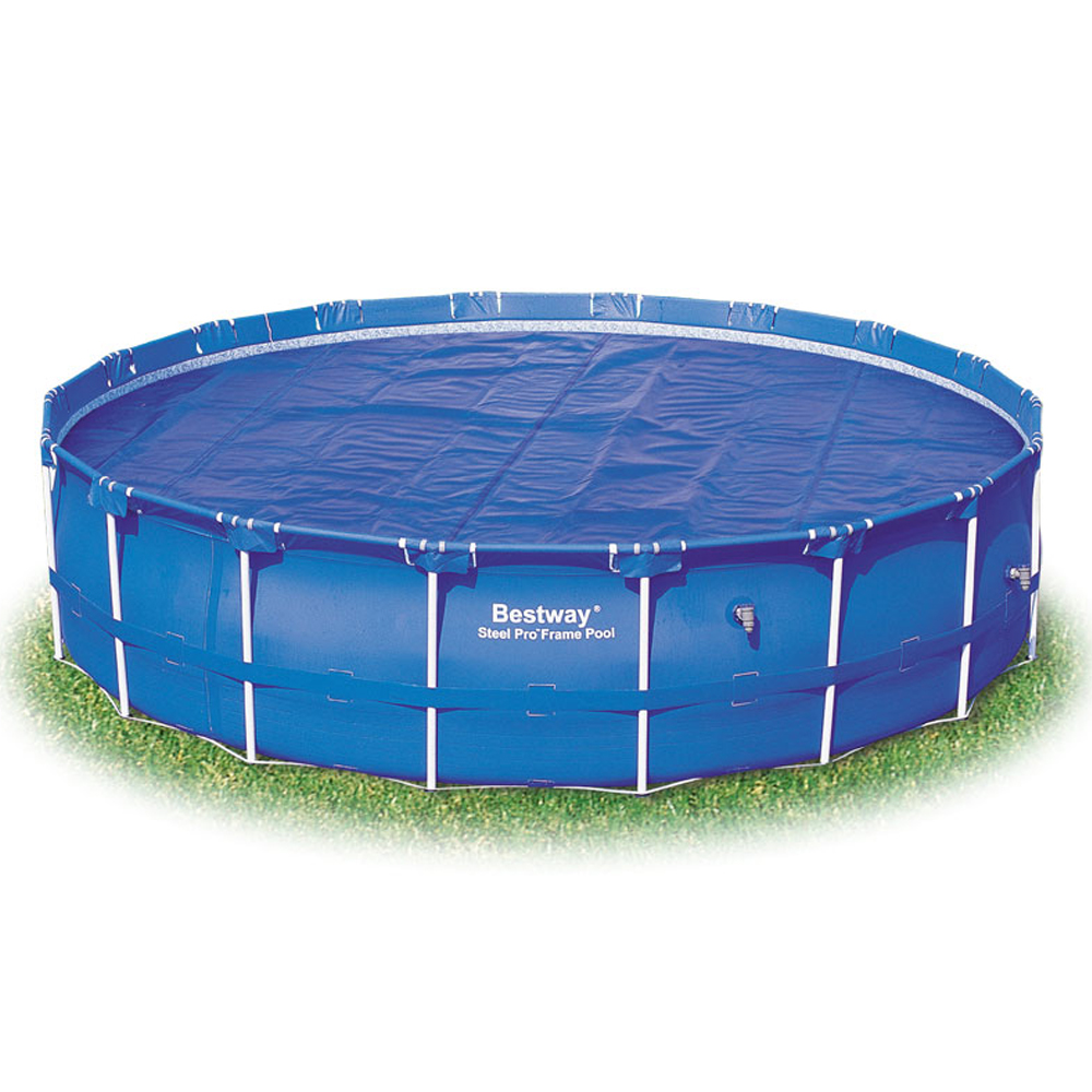 Bestway 15ft Steel Frame Solar Pool Cover Ebay