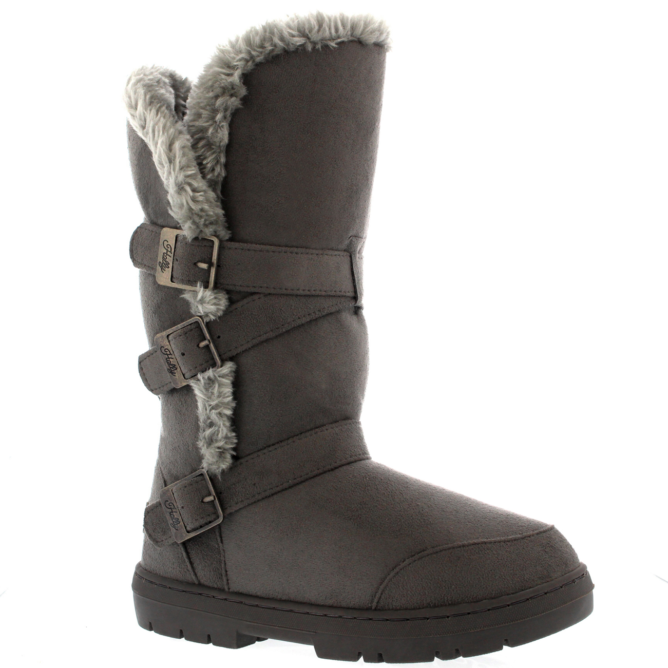 Lastest Details About WOMENS TALL FULLY FUR LINED WINTER SNOW SHOE BOOTS 38