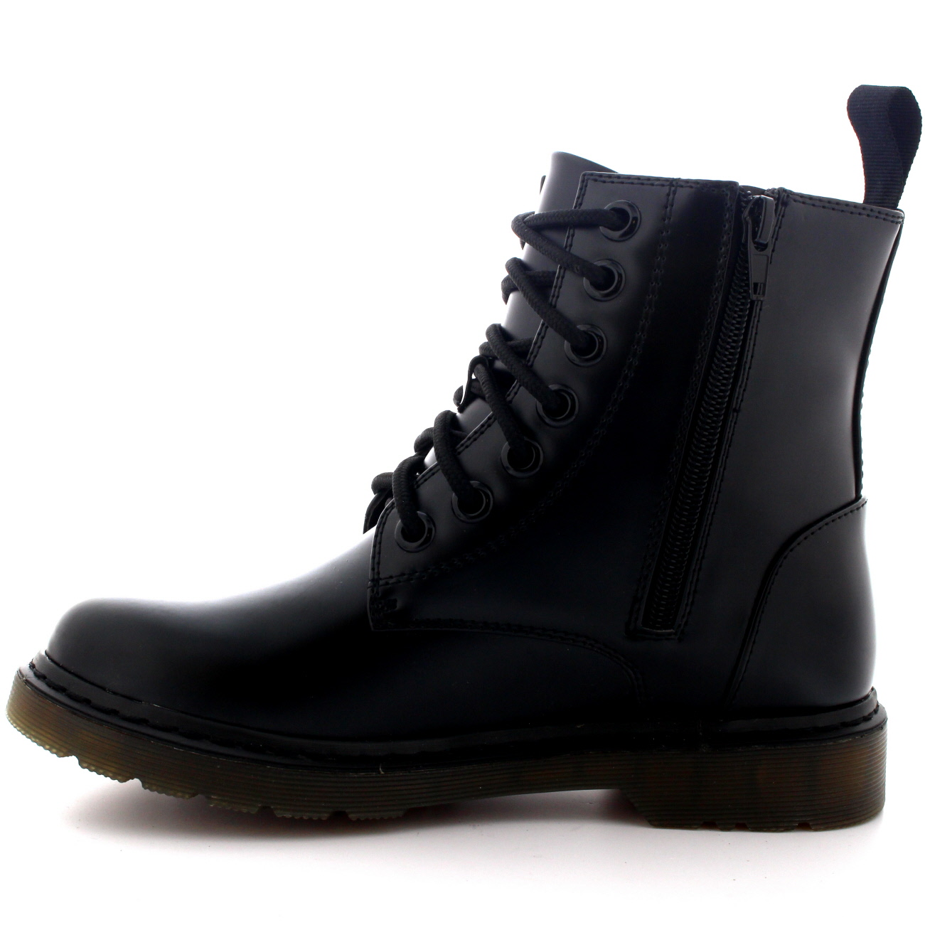 Mens Lace Up Goth Punk Vintage Chunky Military Retro Combat Ankle ...