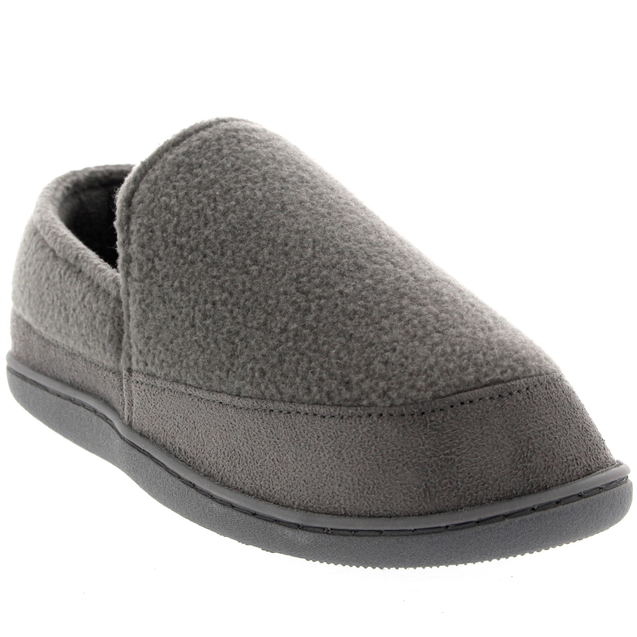 Womens Fur Covered Slip On Comfy House Winter Fur Lined ...
