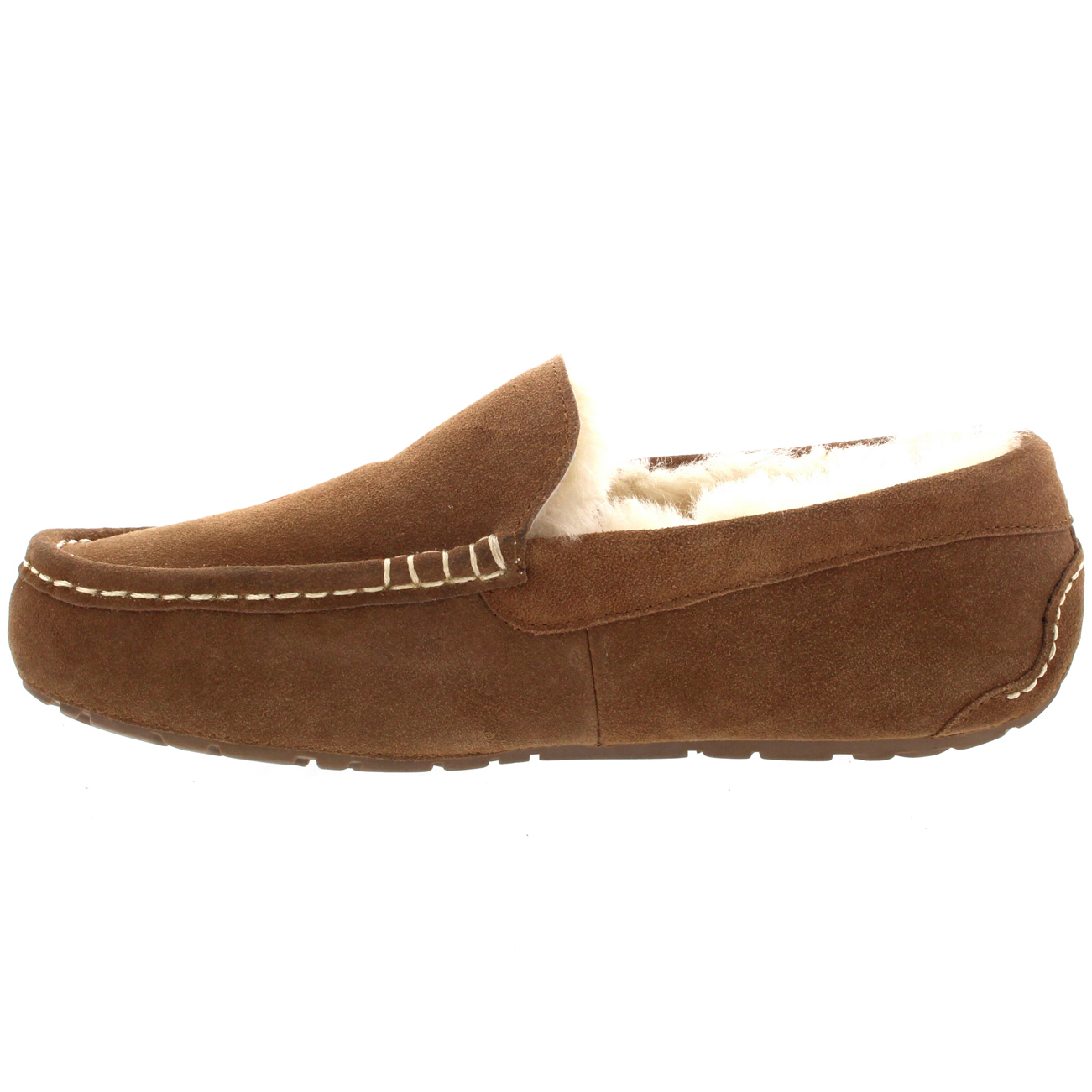 Leather Moccasin House Shoes
