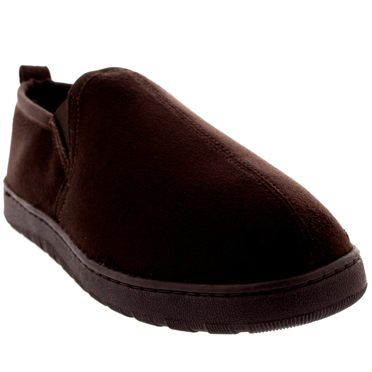 Mens Loafer Slip On Warm Cosy Winter Moccasin Fur Lined Slipper Shoes US 7-15 | EBay