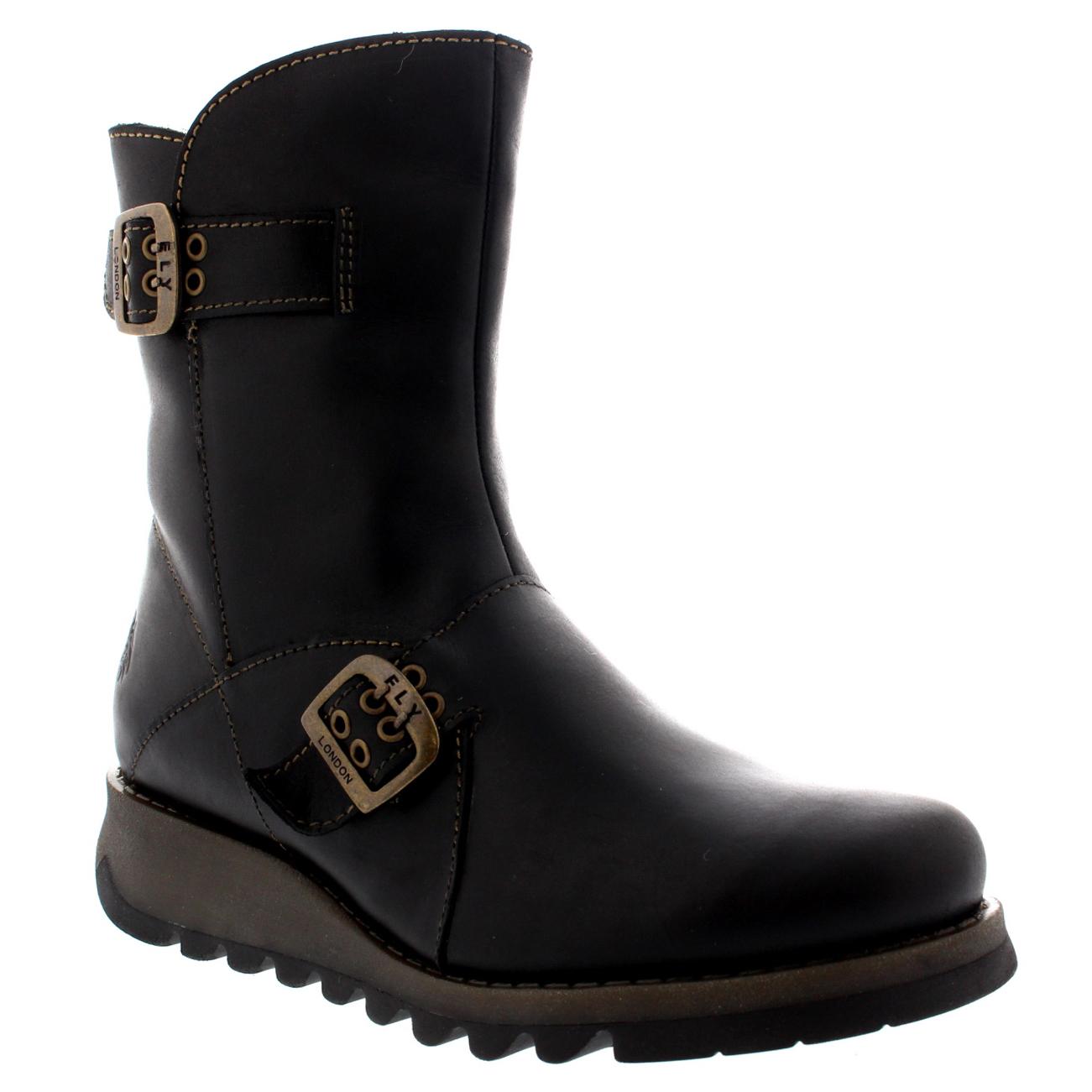 womens fly seti warm shoes zip winter snow fur