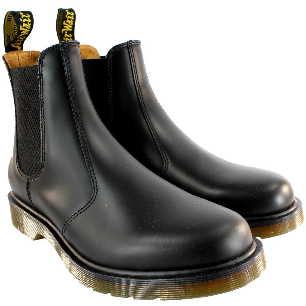 Womens Dr Martens Airwair Leather Chelsea Boot Low Heel Ankle Boot ...