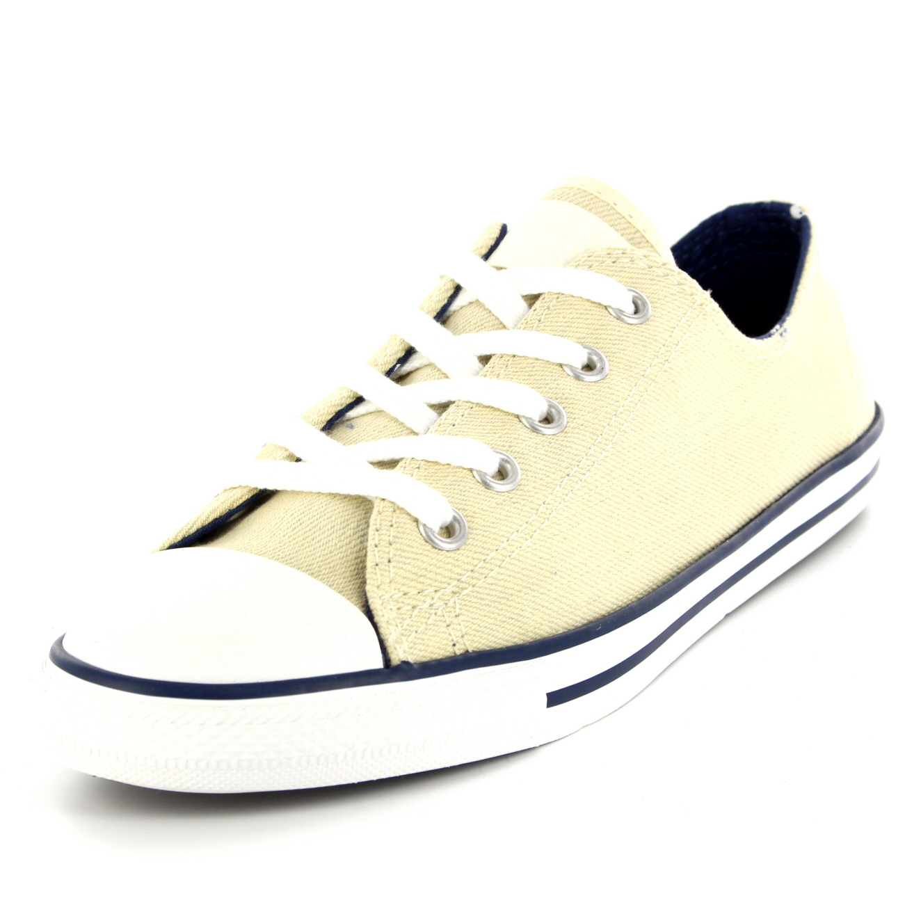 Womens Converse Dainty Denim Ox All Star Chuck Taylor Lace Up ... 54048adc7