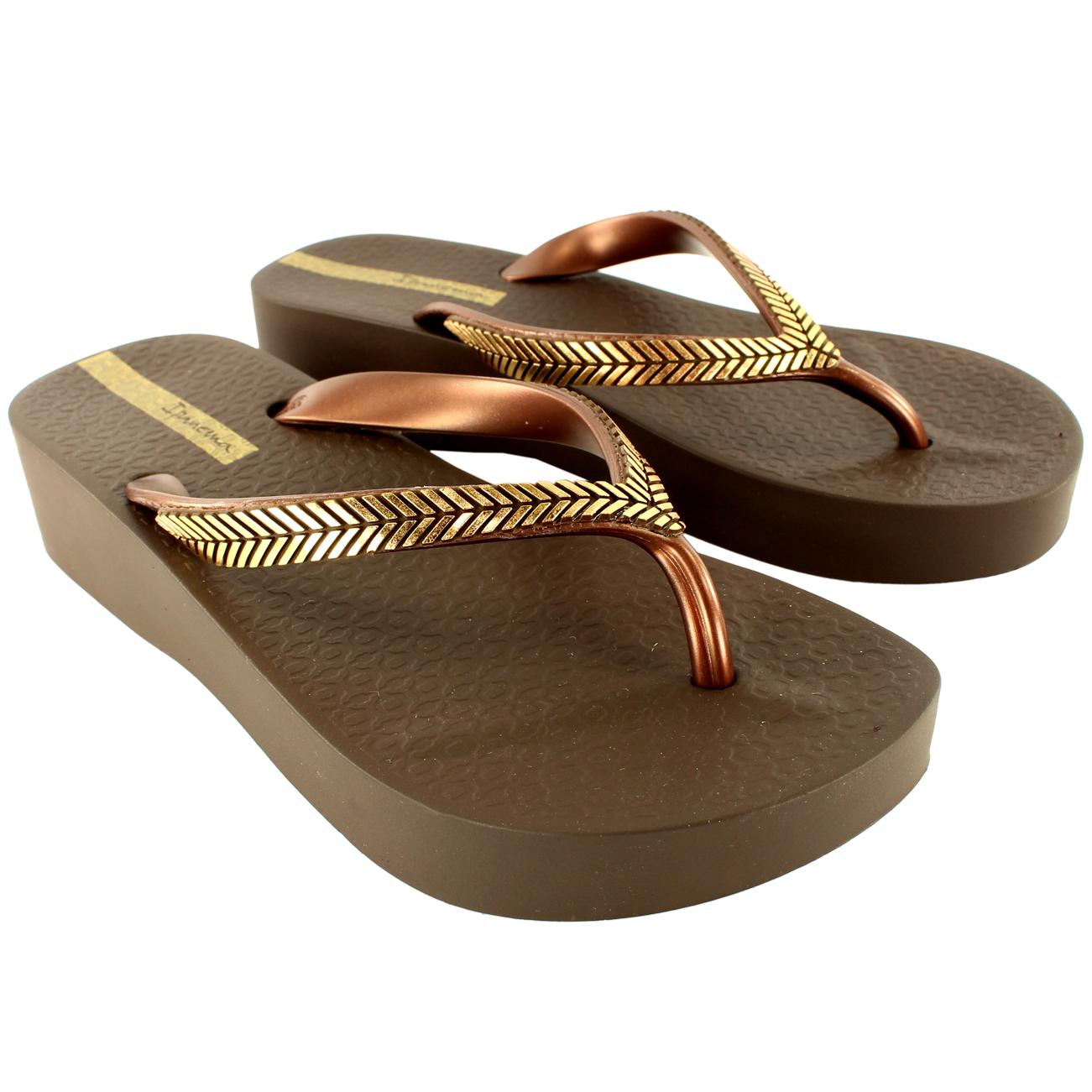 Womens-iPanema-Bella-Wedge-Slip-On-Summer-Beach-