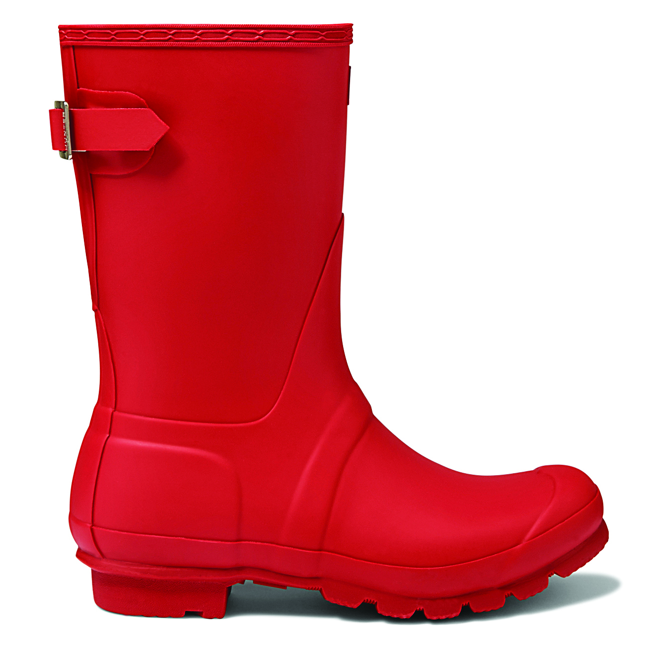 Womens Hunter Original Adjustable Back Short Snow Rain Boot ...