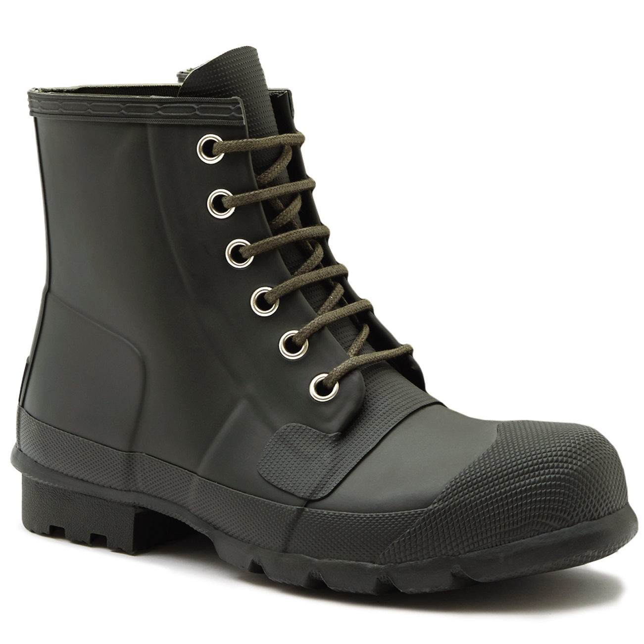 Mens Hunter Original Lace Up Rubber Snow Winter Waterproof Ankle Boots US 7-13 | eBay