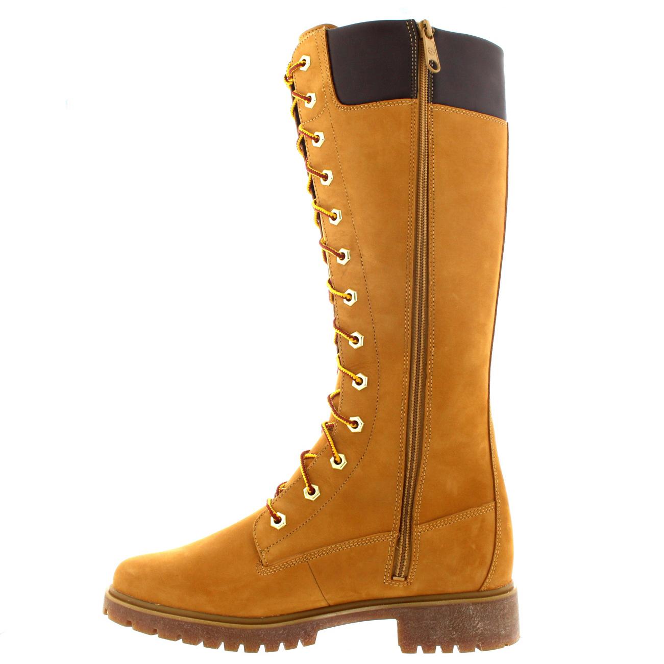 womens timberland 14 inch premium leather knee high rain. Black Bedroom Furniture Sets. Home Design Ideas