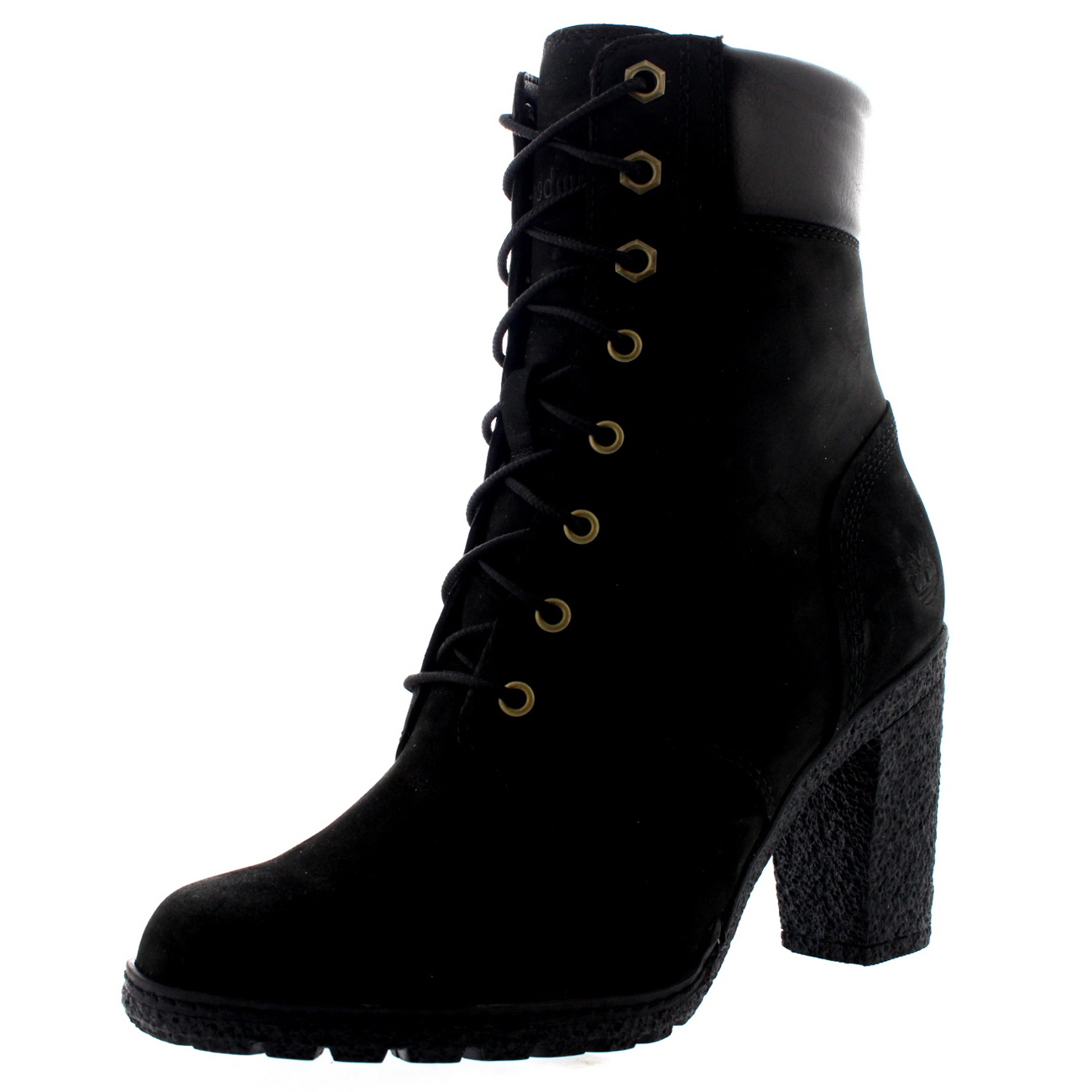 womens timberland earthkeepers glancy 6 inch nubuck ankle boot high heel us 5 11 ebay