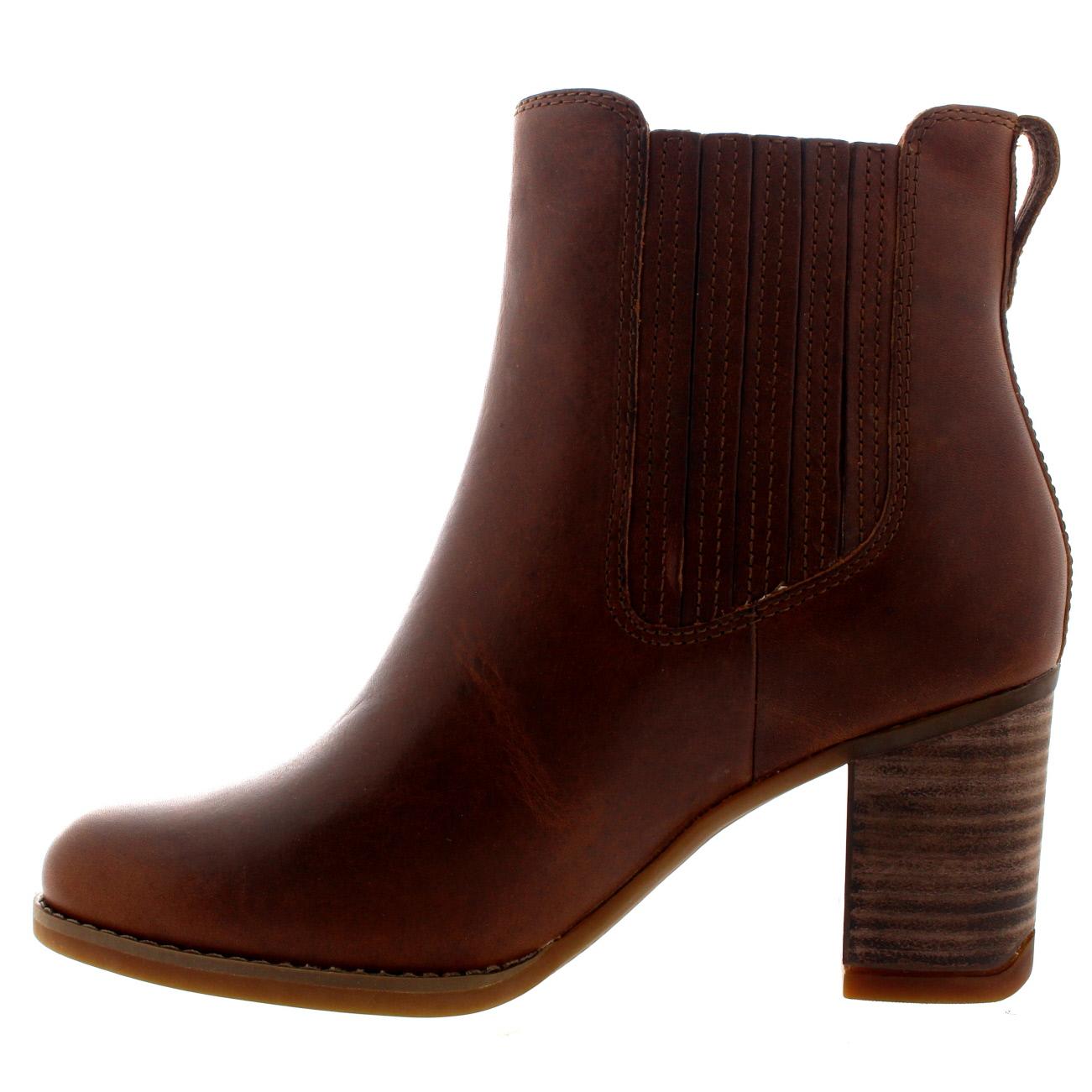 womens timberland atlantic heights mid heel leather winter