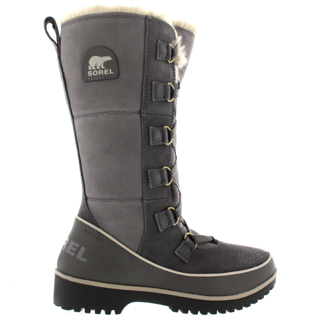 womens sorel tivoli high ii waterproof winter mid