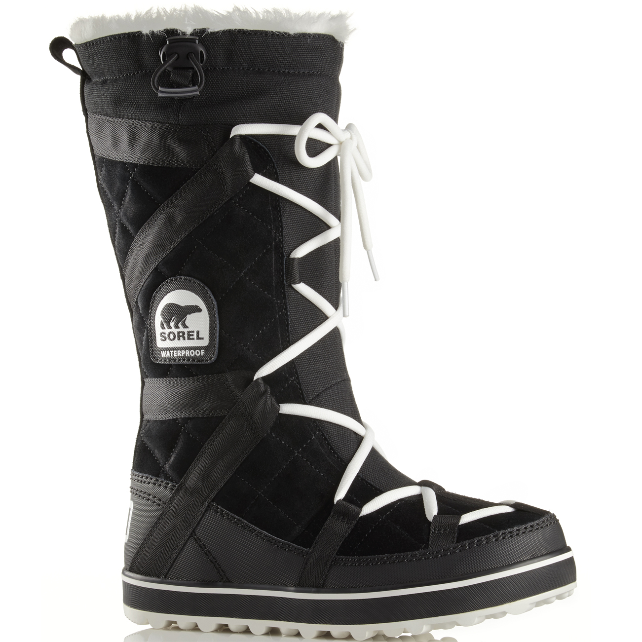 womens sorel glacy explorer hiking waterproof walking snow