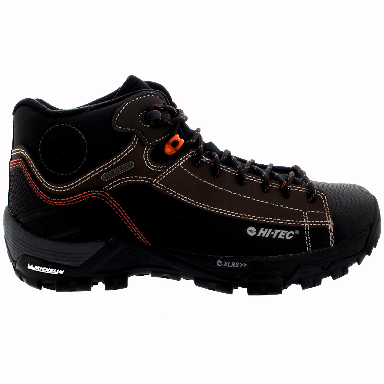 Mens Hi-Tec Trail Ox Chukka Outdoors Hiking Trail Waterproof Ankle ...