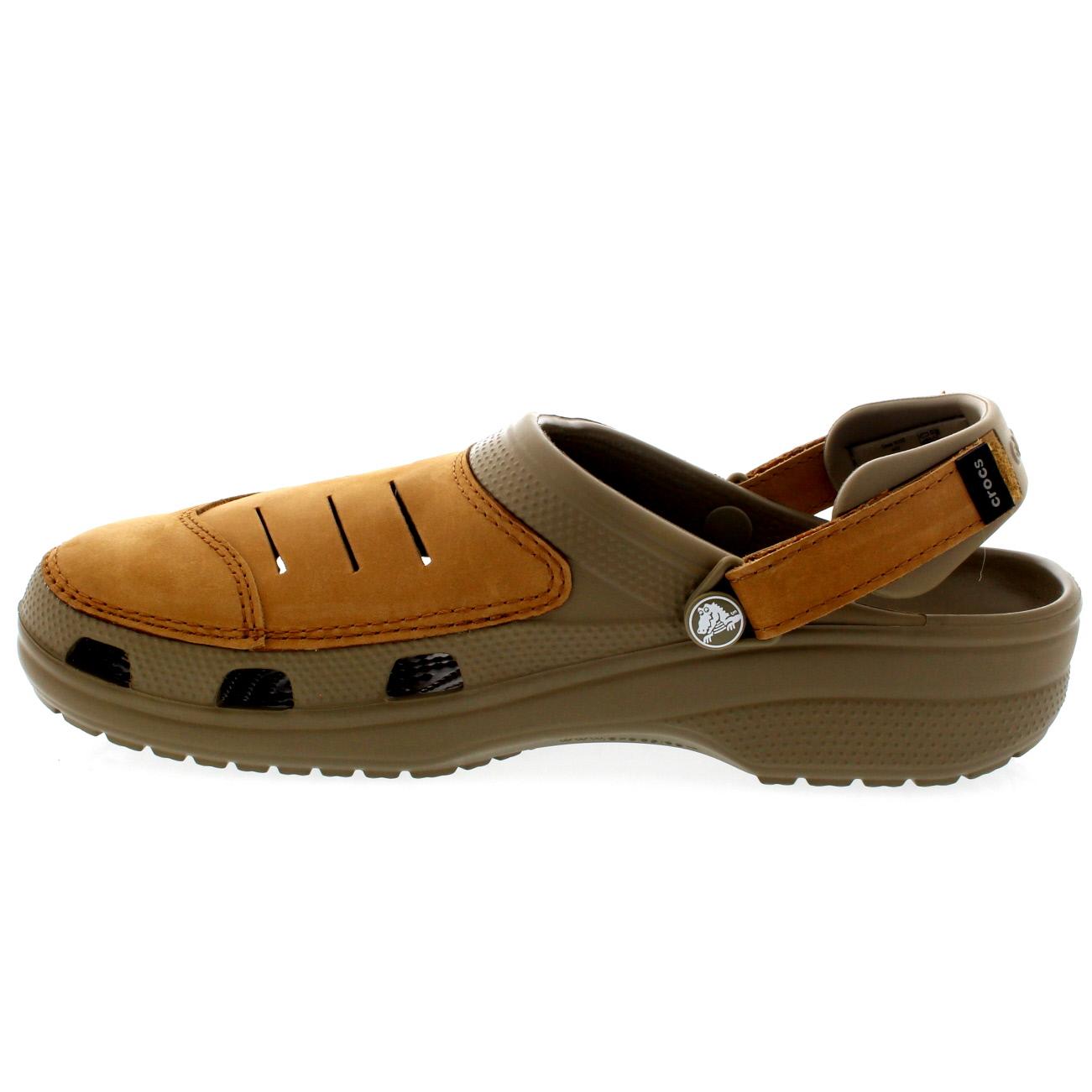 Mens crocs Yukon Slip On Beach Lightweight Casual Clogs Sandals Mules
